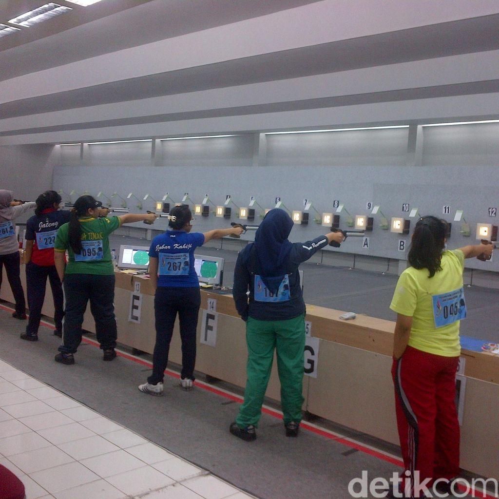 Tangis Haru Rarun Octafin Usai Raih Emas 10 M Air Pistol Women