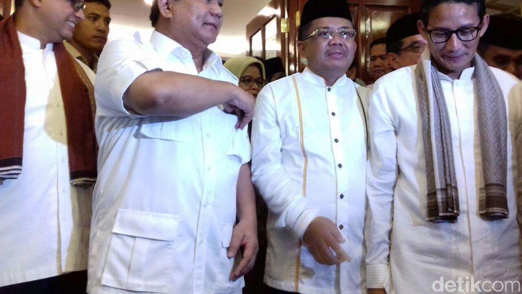 Sandiaga Uno Butuh 4 Hari Yakinkan Prabowo dan PKS Agar Terima Anies Baswedan
