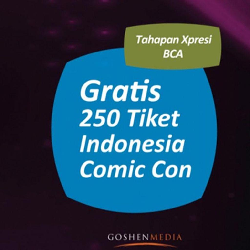 Mau Tiket Masuk Indonesia Comic Con 2016? Coba Cara Ini