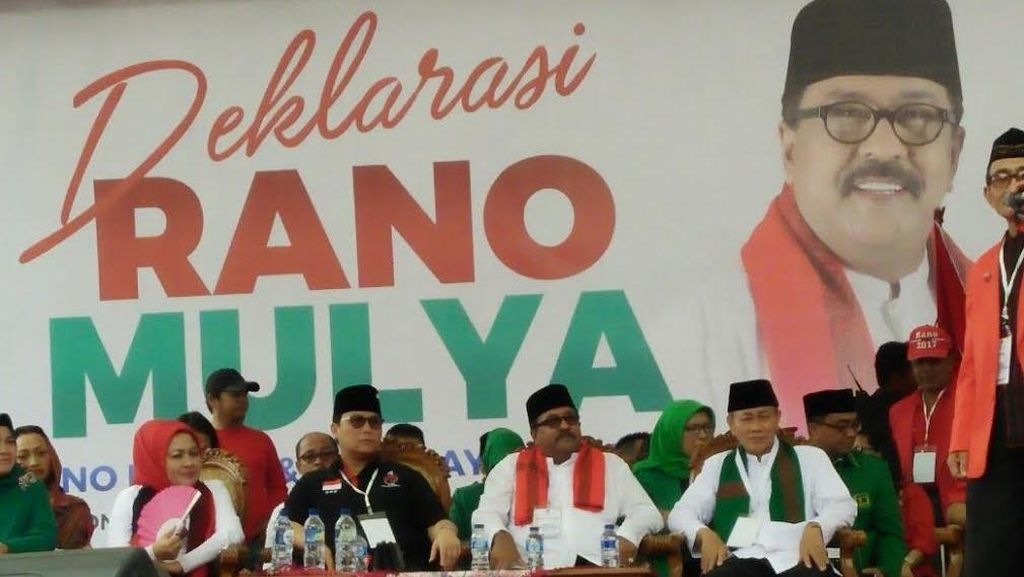 Deklarasi Maju Pilgub, Rano: Kami Tak ingin Banten Dimonopoli Secara Terbatas