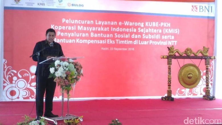 Program e-Warong Diresmikan di Kediri