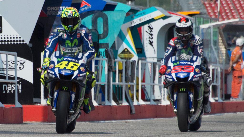 Lorenzo Bertekad Akhiri Musim di Atas Rossi