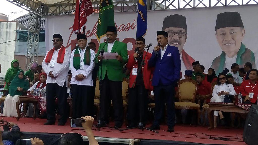 Megawati Batal Hadir Deklarasi Cagub-Cawagub Banten Rano-Embay