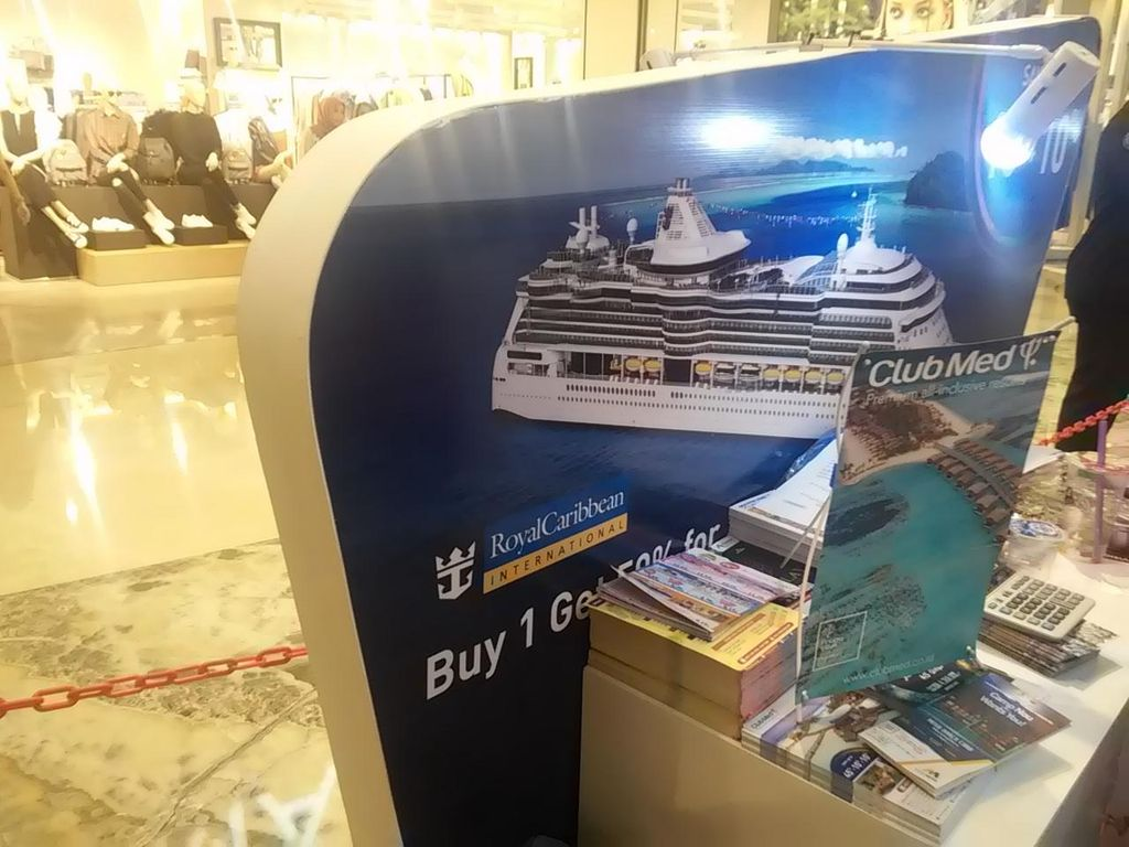 Cuma di Mega Travel Fair 2016, Diskon Cruise Hingga 50%