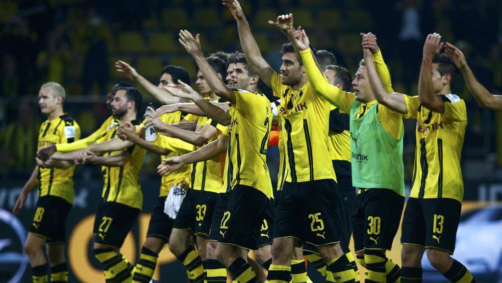 Dortmund Samai Rekornya Sendiri, Bersiap Menyambut Madrid