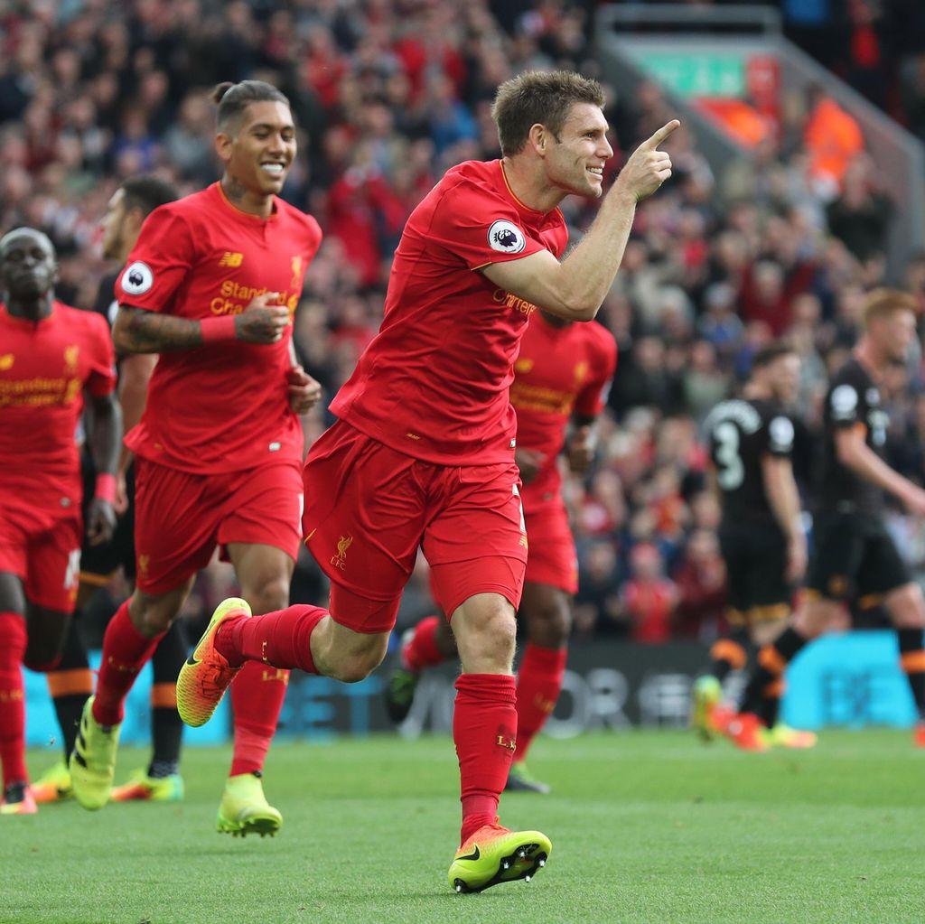 Liverpool Terpacu Persaingan Ketat di Internal Tim