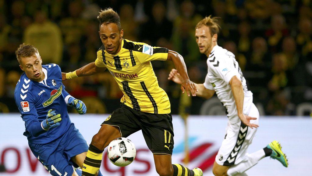 Dortmund Tundukkan Freiburg 3-1