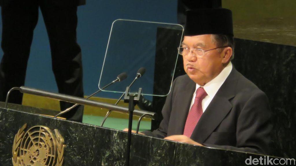 Wapres JK Dorong Reformasi PBB Dalam Pidatonya di Sidang Umum