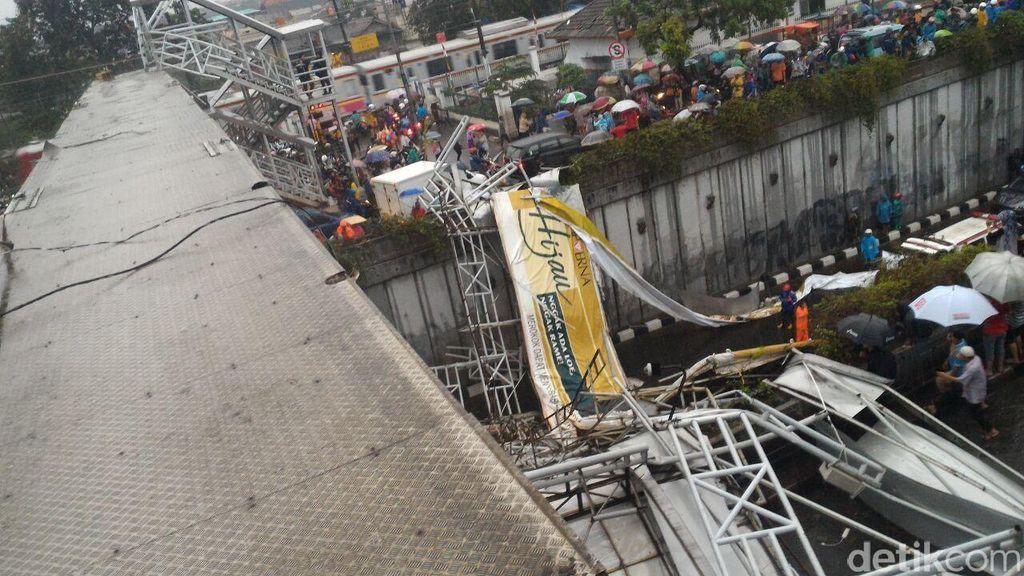 Ahok Jamin Pendidikan 2 Anak Depok yang Ortunya Tewas di JPO Pasar Minggu