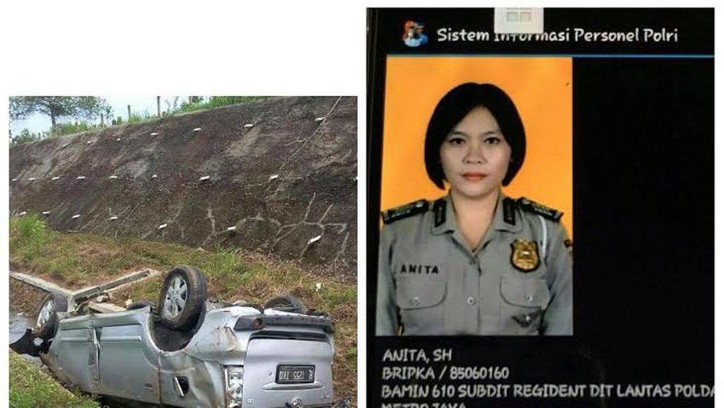 Mobil Terguling di Tol Cipali, Polda Jabar: Bripka Anita Diduga Mengantuk