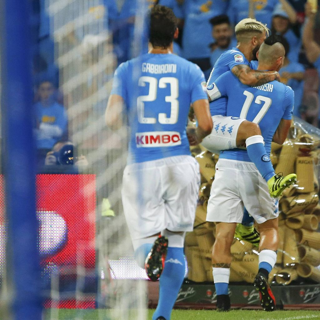 Napoli Ingin Terus Recoki Juve dalam Persaingan di <I>Serie A</I>