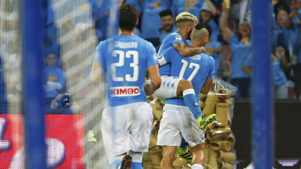 Napoli Ingin Terus Recoki Juve dalam Persaingan di Serie A