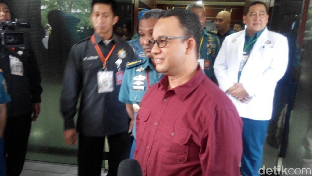 Sungai di Jakarta Kini Bersih, Anies: Itu Dirancang oleh Pak Fauzi Bowo