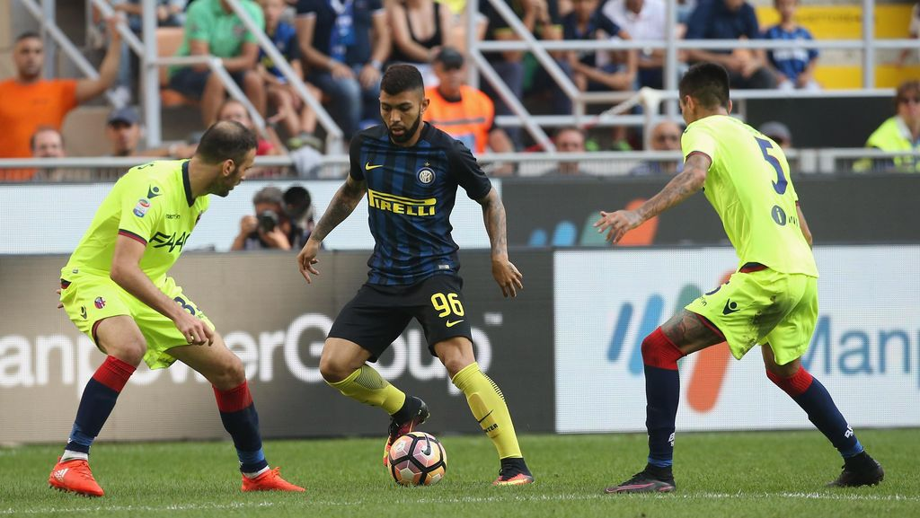 Inter Ditahan Imbang Bologna 1-1
