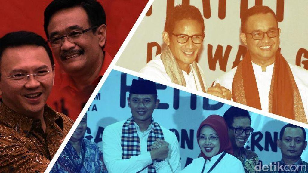 Pertarungan Pilgub DKI Diprediksi Akan Berlangsung Dinamis