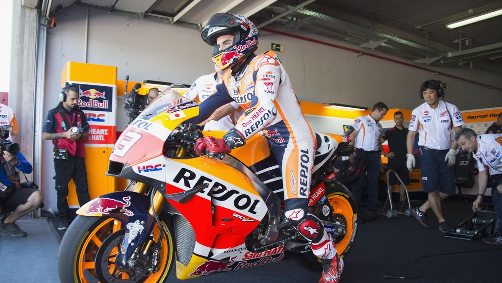 Selalu Nyaman di Aragon, Marquez Berharap Kali Ini Finis dengan Hasil Bagus