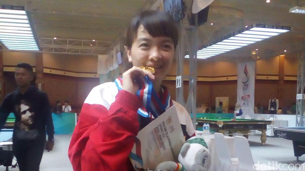 Mimpi Silviana Ingin Menjadi Juara Dunia Biliar