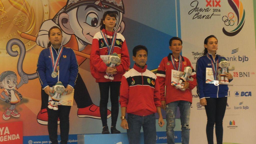 Main Sabar, Kunci Sukses Silviana Tumbangkan Atlet Unggulan Jabar di Meja Biliar