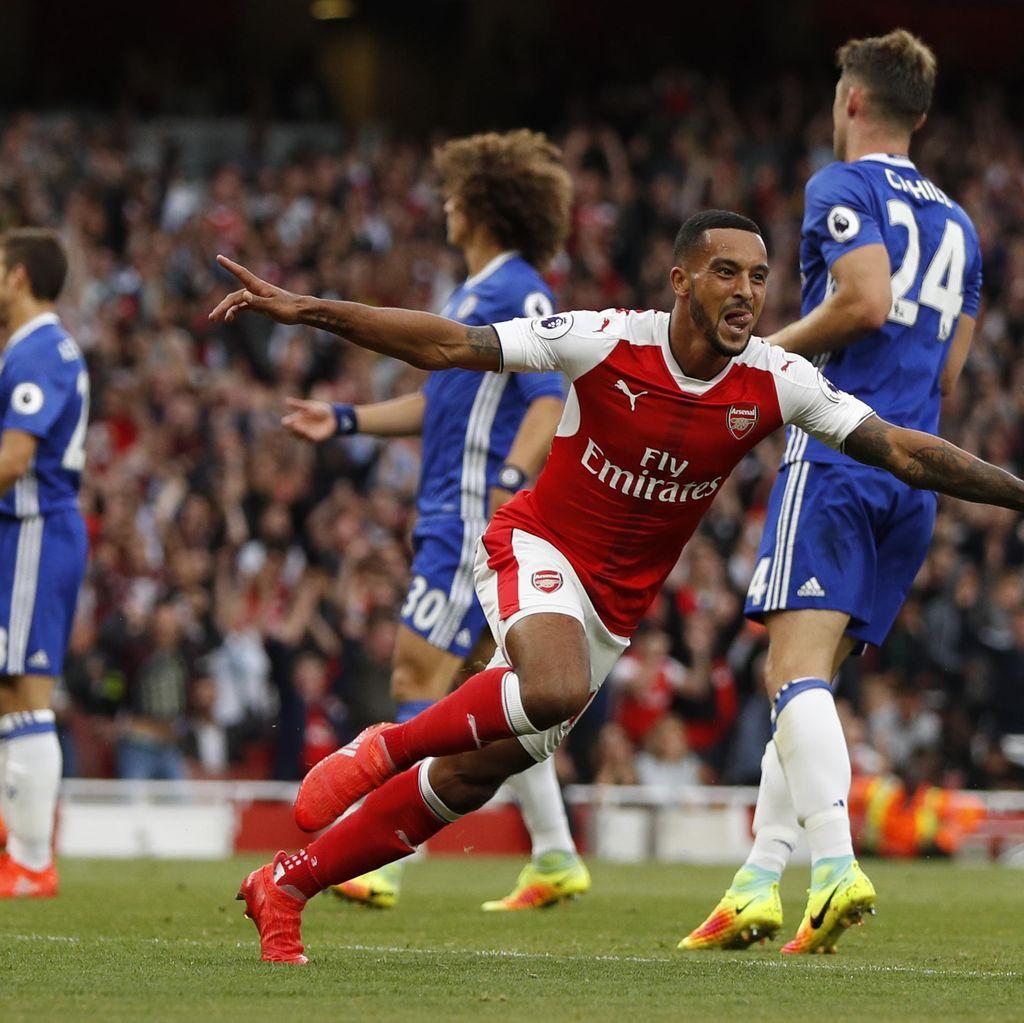 Dominan, Arsenal Hantam Chelsea 3-0
