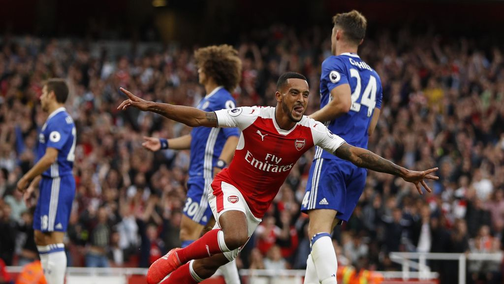 Dominan, Arsenal Hantam Chelsea 3-0