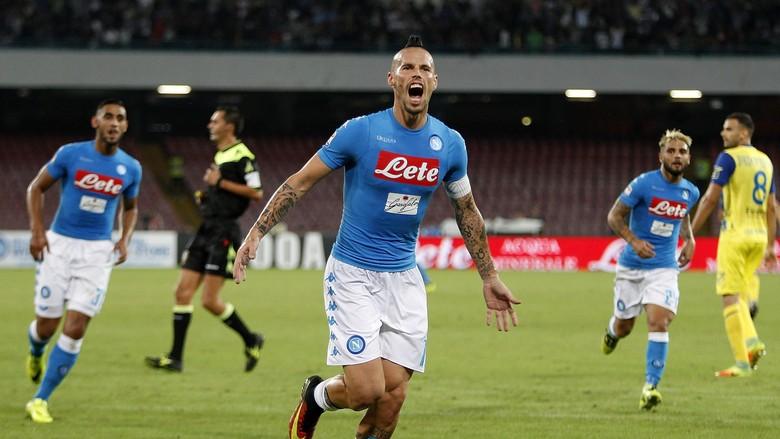 Napoli Raih Tiga Poin Atas Chievo