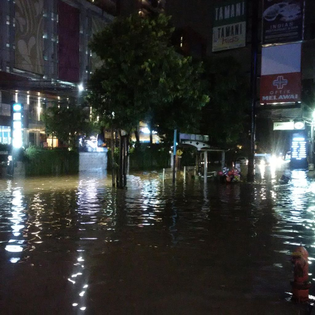 BPBD DKI: Kemang Banjir Lagi Karena Hujan Deras dan Drainase Minim
