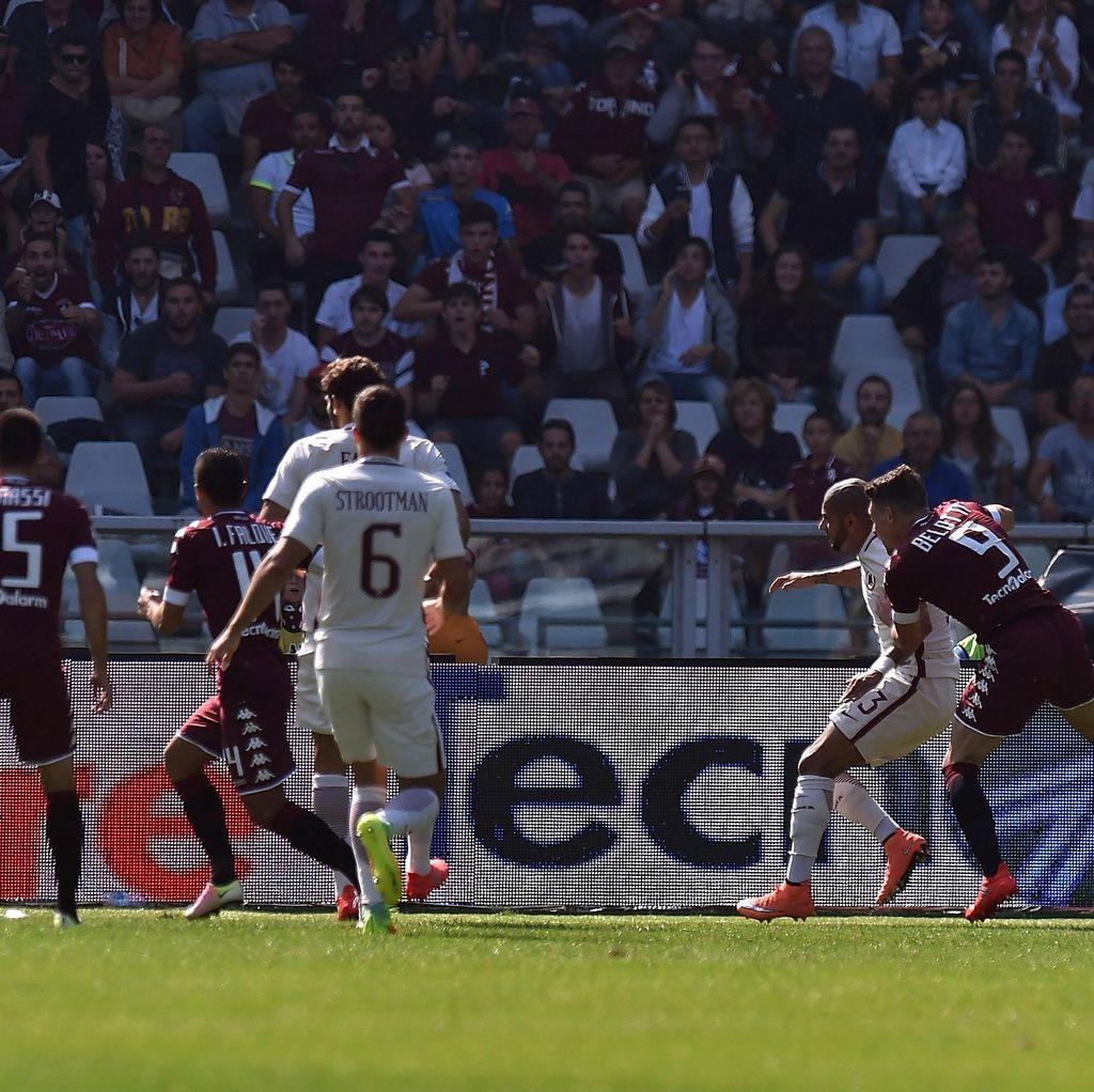 Torino Ungguli Roma 1-0 Saat <I>Half Time</I>