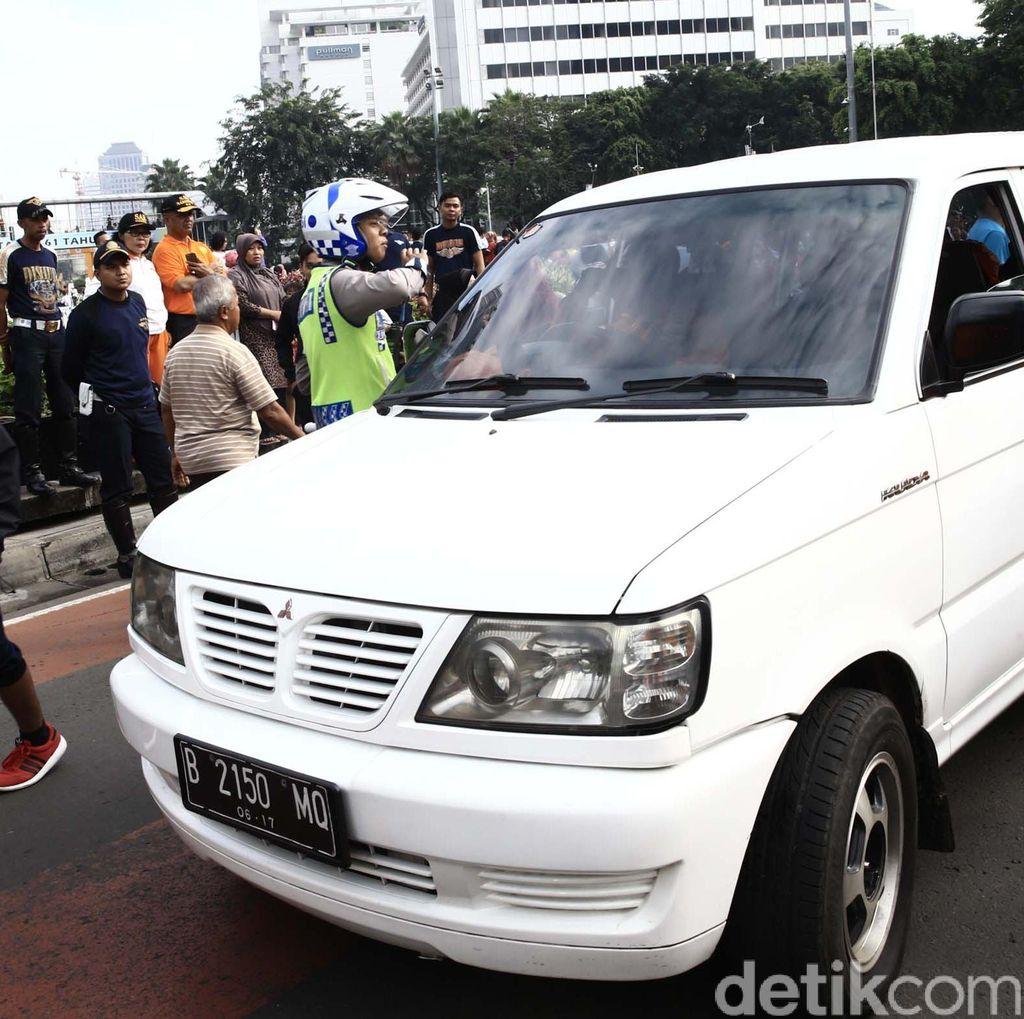 Mobil Masuk Area Car Free Day