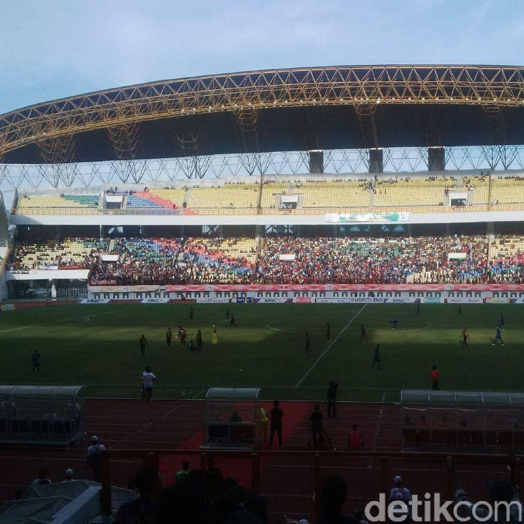 Jabar vs Sulsel di Final Sepakbola PON
