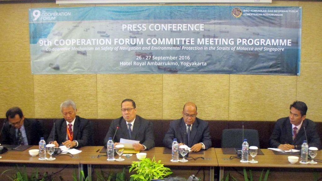 3 Negara Bahas Keselamatan Pelayaran Selat Malaka dan Singapura