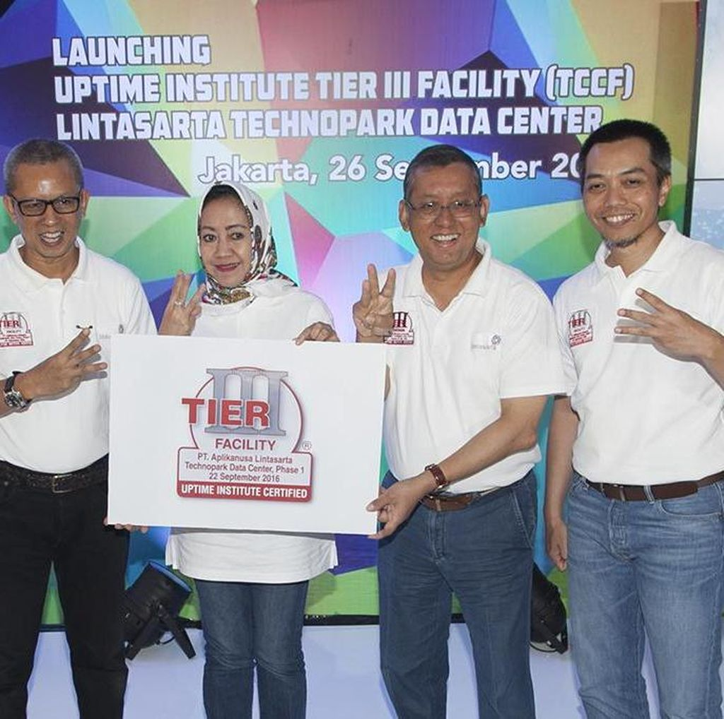 Lintasarta Kembali Tambah World Class Data Center