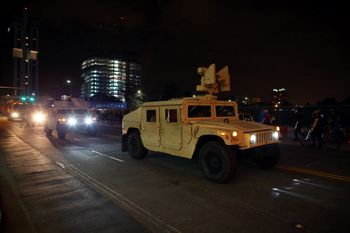 Rusuh di AS, Tentara Garda Nasional Dikerahkan