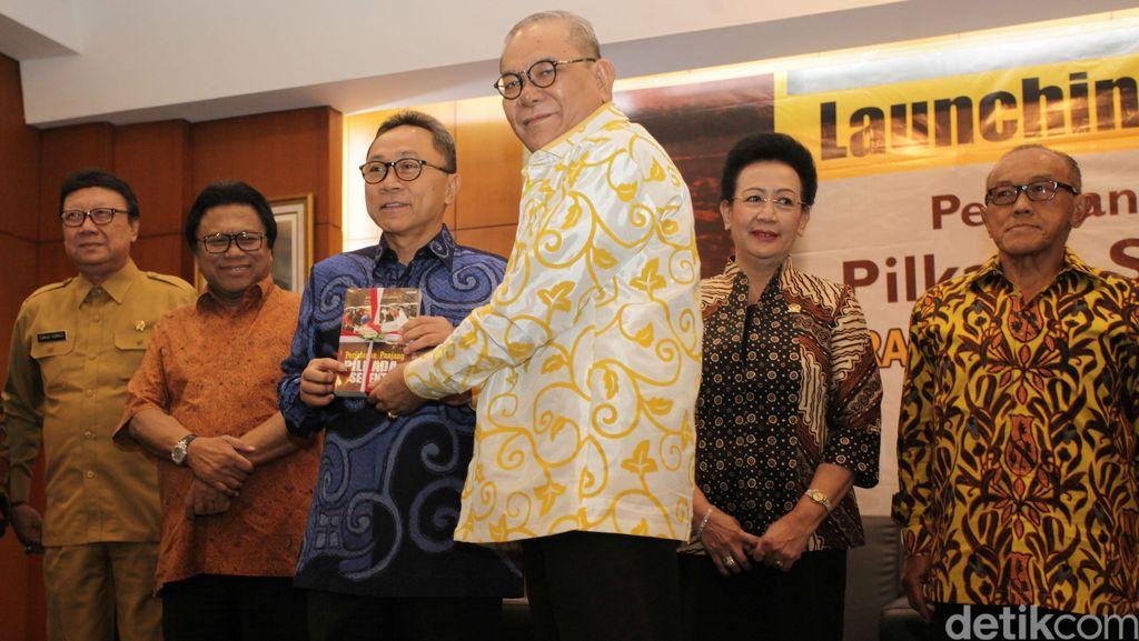Rambe Kamaruzzaman Luncurkan Buku Perjalanan Panjang Pilkada Serentak