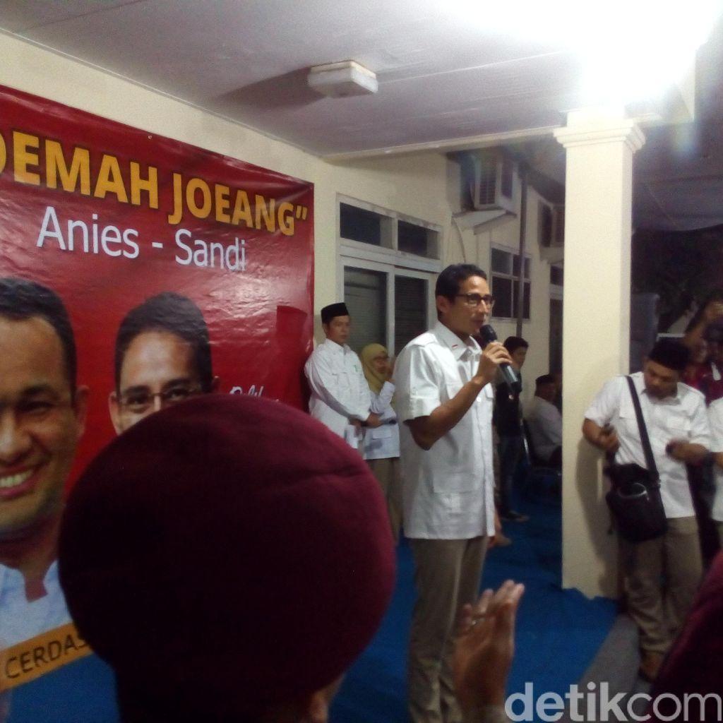 F-Gerindra Deklarasi Roemah Joeang Anies-Sandi Jadi Markas Pemenangan