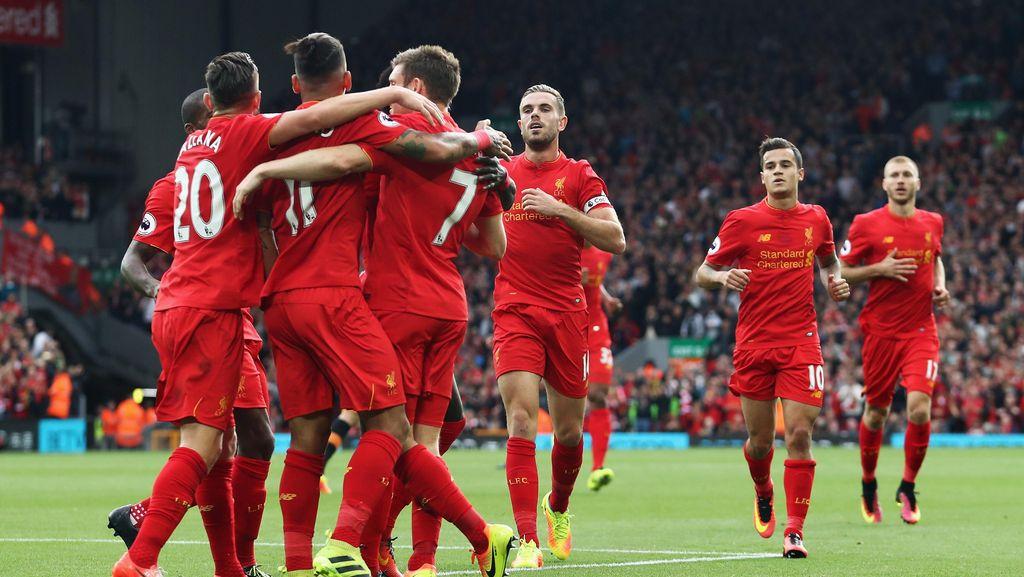 Red Hot Liverpool Geser MU, Arsenal, dan Chelsea Sebagai Kandidat Juara