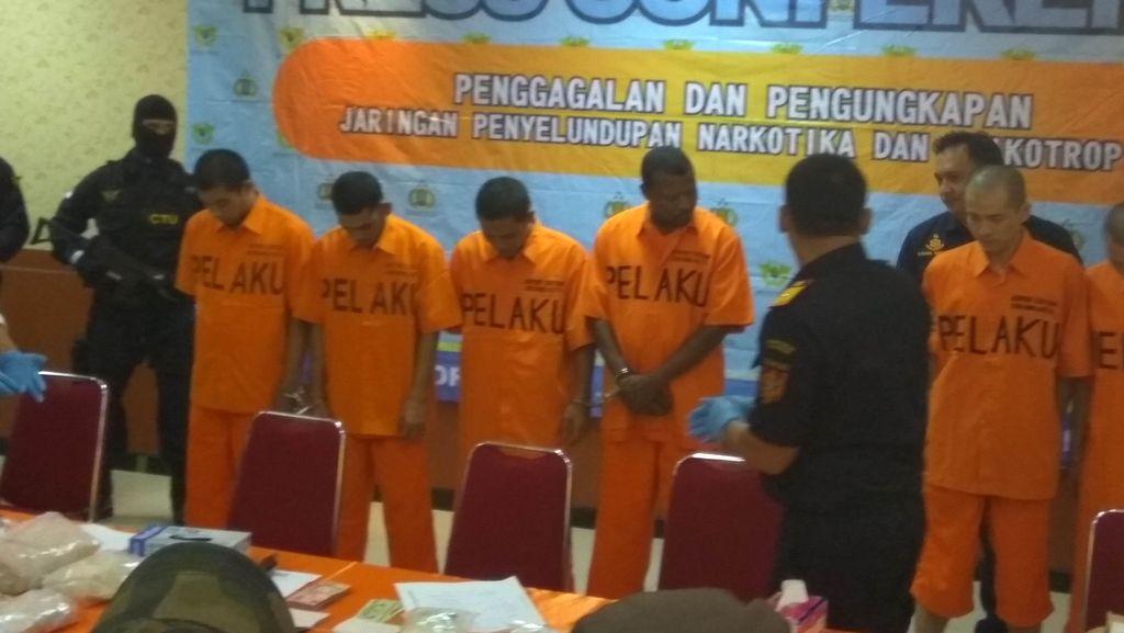 Polri dan Bea Cukai Ungkap Penyelundupan Sabu Seberat 12 Kg Asal China
