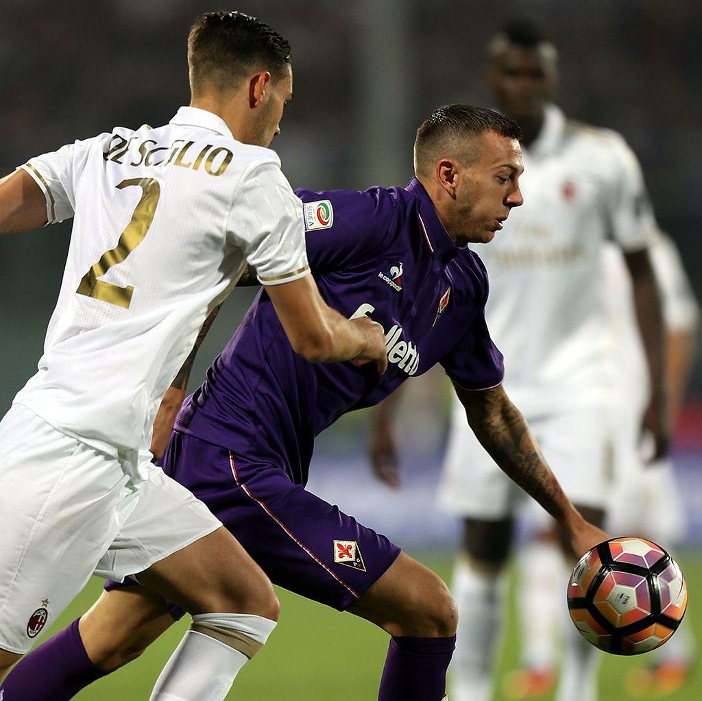 Duel Fiorentina vs Milan Berakhir Tanpa Pemenang