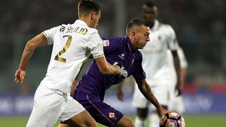 Laga Antara Fiorentina Vs AC Milan Berakhir Tanpa Gol