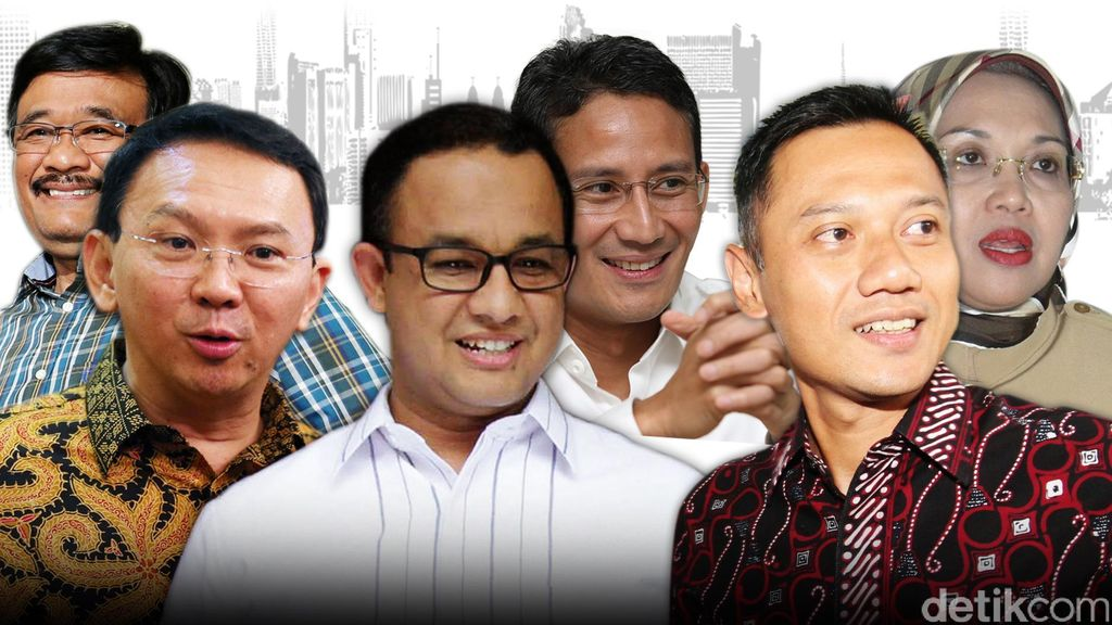 Ahok, Anies dan Agus Bertarung di Pilgub DKI, Peneliti CSIS: Sulit Diprediksi