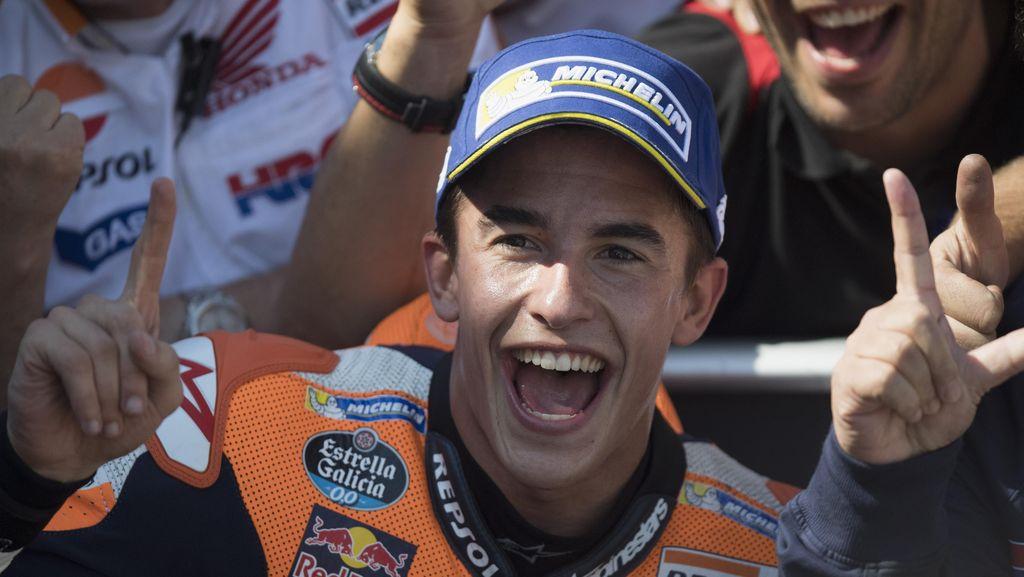 Marquez Bicara soal Kans Jadi Juara Dunia di Motegi