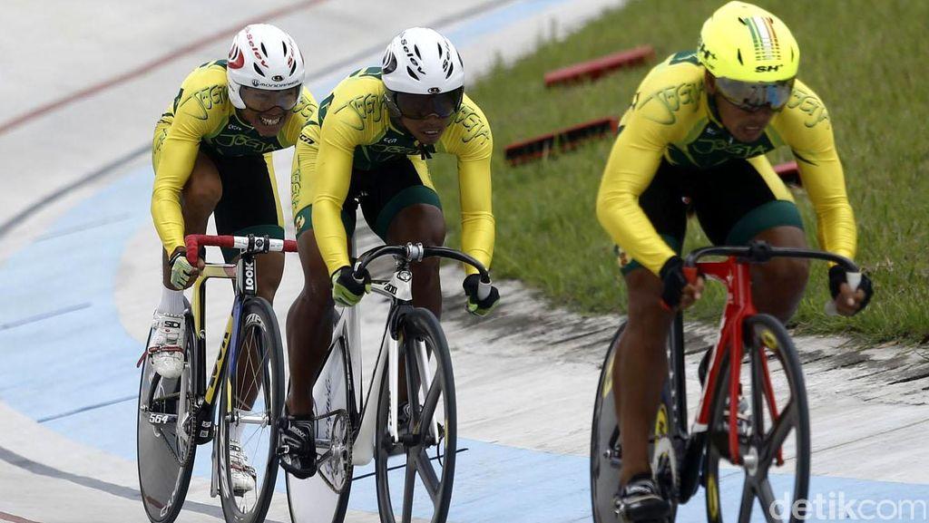 Jatim dan Yogyakarta Tambah Emas dari Trek Balap Sepeda