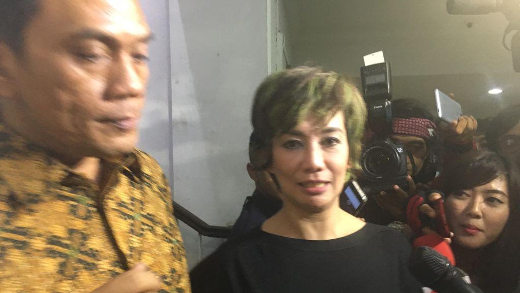 Reza Tutup Mulut Soal Dugaan Perkosaan Aa Gatot Brajamusti