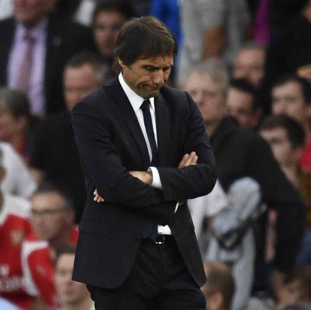 Kekalahan dari Arsenal Bikin Conte Tak Bisa Tidur