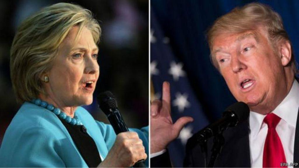 Trump Ancam Undang Selingkuhan Bill Clinton ke Debat Capres AS