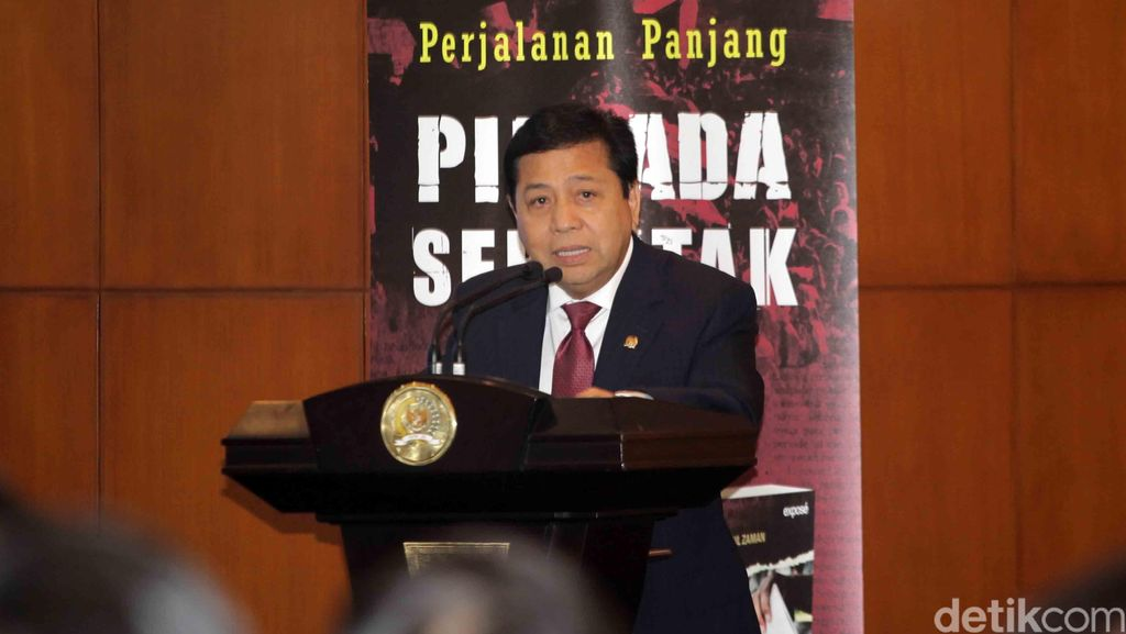 MKD: Pemulihan Nama Baik Tak Kembalikan Novanto Sebagai Ketua DPR