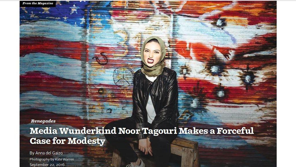 Wanita Muslim Berhijab di AS Muncul dalam Majalah Playboy Edisi Oktober