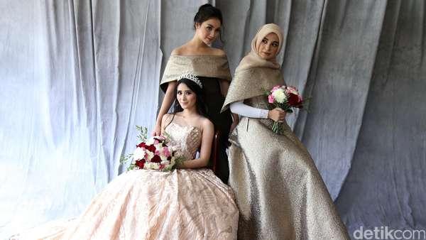 Gorgeous! Cantiknya Citra Kirana, Shireen Sungkar dan Ryana Dea