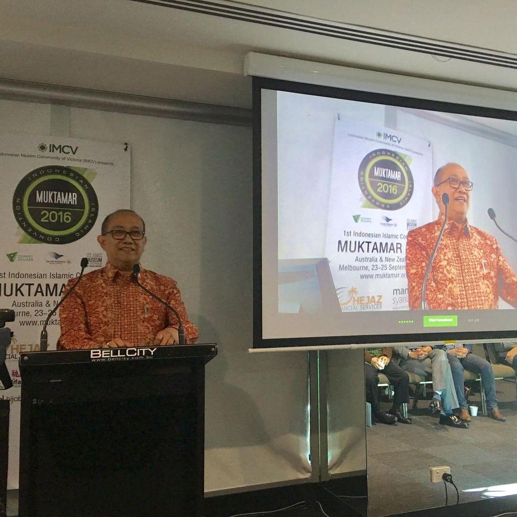 Muslim Indonesia di Australia Berkumpul, Dubes: Terbukti Kita Jadi Teladan