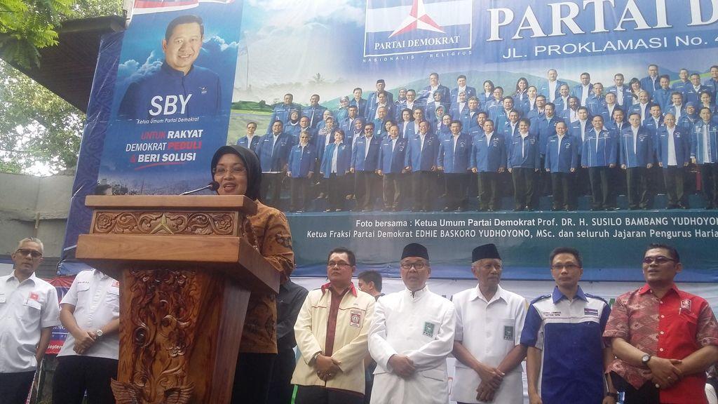 9 Parpol Kecil Deklarasi Dukung Agus Harimurti-Sylviana di Pilgub DKI