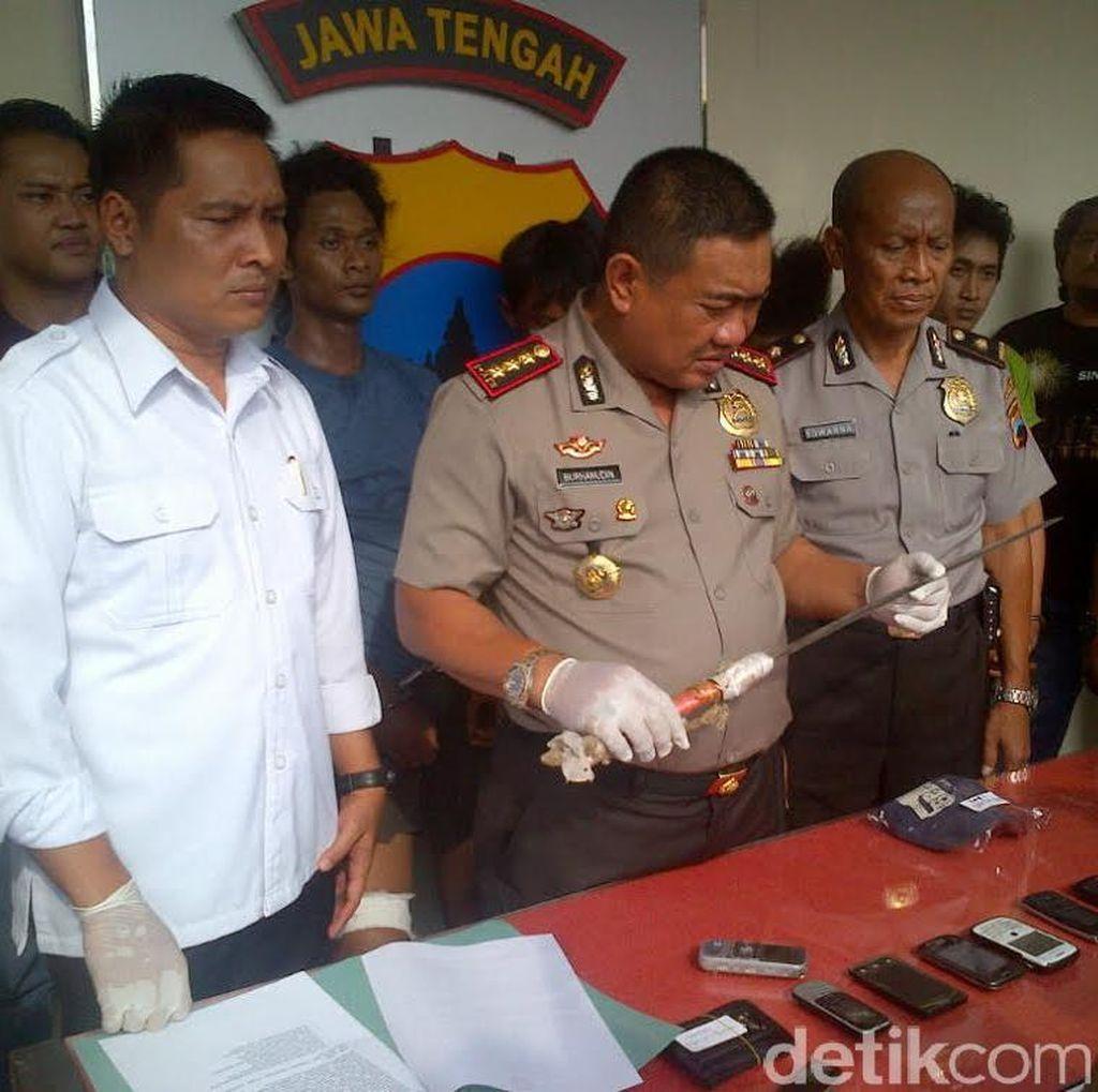 Begal Motor Sadis di Semarang ini Didor Polisi di Kakinya, Sudah 13 Kali Berulah